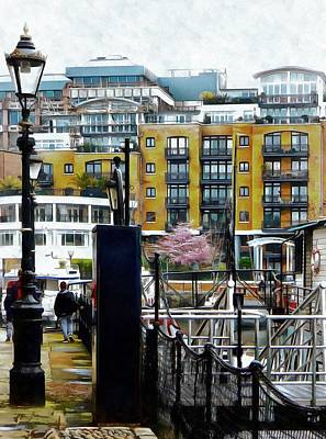 Photograph - Walk Around St Katharine Docks In London by Dorothy Berry-Lound