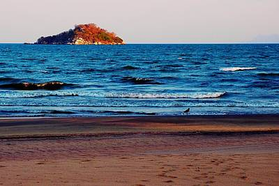 Photograph - Walk At Lake Malawi 01 by Dora Hathazi Mendes