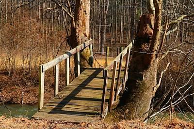 Photograph - Walk Bridge by Kathryn Meyer