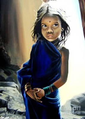 Painting - Walk By Faith by Addonis Parker