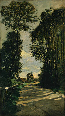 Painting - Walk  by Claude Monet