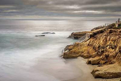 Photograph - Walk Down To The Mist by Peter Tellone