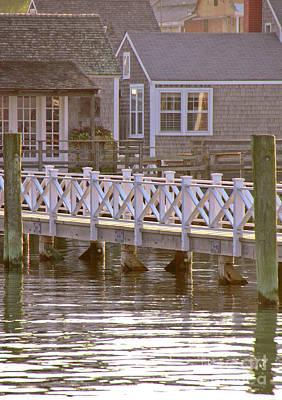Nantucket Photograph - Walk Here by Leslie Reitman