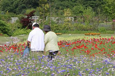 Photograph - Walk In The Flower Garden by Masami Iida