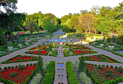 Photograph - Walk In The Gardens by Robert Brown