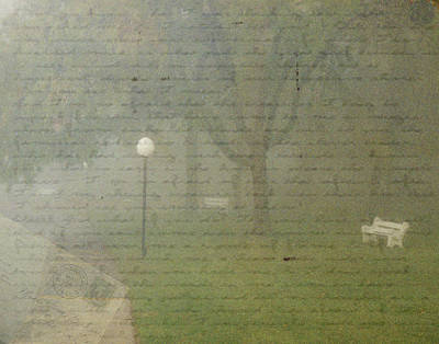 Photograph - Walk In The Mist by Nadine Berg