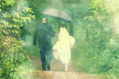 Photograph - Walk In The Rain by Joel Witmeyer