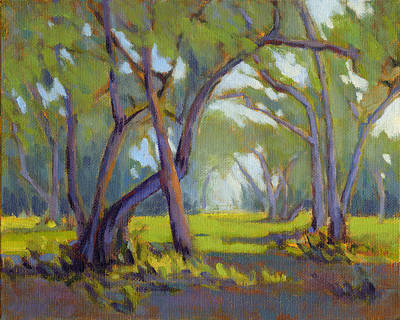 Painting - Walk In The Woods 4 by Konnie Kim
