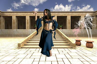 Fantasy Art Mixed Media - Walk Like An Egyptian by Smart Aviation