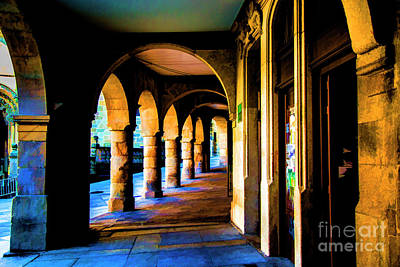 Photograph - Walk Of Arches by Rick Bragan