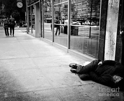 Photograph - Walk On By by Miriam Danar