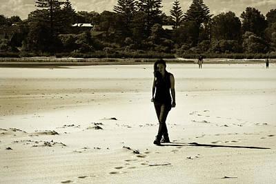 Photograph - Walk On The Sand by Miroslava Jurcik