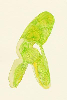 Walk - #ss14dw035 Art Print by Satomi Sugimoto