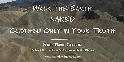Digital Art - Walk The Earth by Mark David Gerson