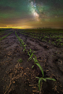 Photograph - Walk The Line  by Aaron J Groen
