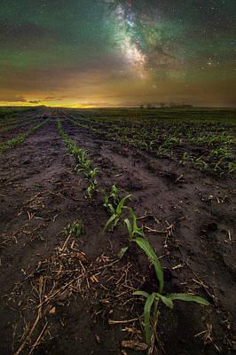Photograph - Walk The Line  by Aaron J Groen