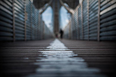 Photograph - Walk The Line by Ryan Smith