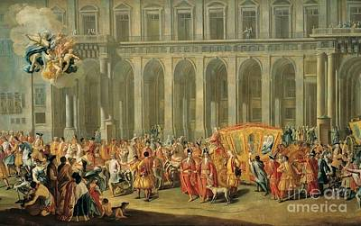 Rossi Painting - Walk The Viceroy Of Naples by MotionAge Designs