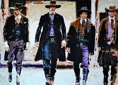 Painting - Walk This Way by Traci Goebel