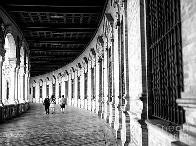Photograph - Walk Through The Central Building by John Rizzuto