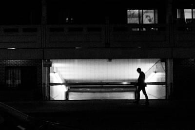 Photograph - Walk Through The Light by SR Green