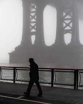 Photograph - Walk Thru The Fog... by Anthony Fields