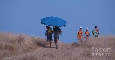 Photograph - Walk To The Beach by Italian Art