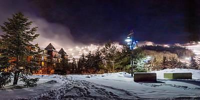 Walk To The Ski Hills Art Print