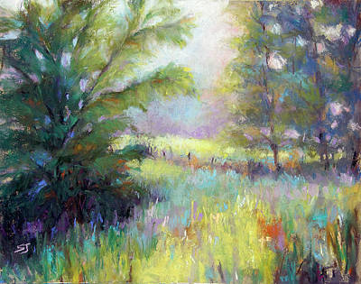Pastel - Walk With Me by Susan Jenkins