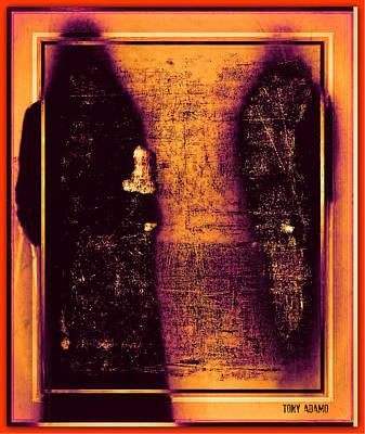 Walk With The Forbidden Art Print by Tony Adamo