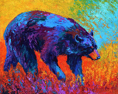 Walkabout Art Print by Marion Rose