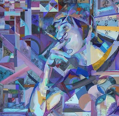 Painting - Walker by Kaley LaRose