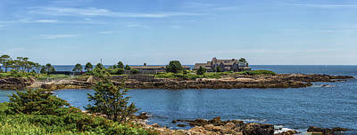 Walkers Point Kennebunkport Maine Art Print by Brian MacLean