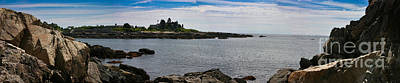 Shore Photograph - Walkers Point Kennebunkport Maine by David Bishop