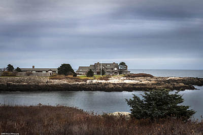 Photograph - Walkers Point Kennebunkport Maine by Debra Forand
