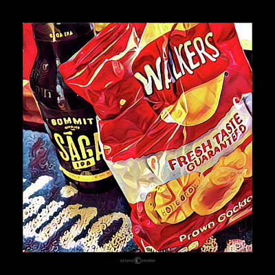 Photograph - Walkers Prawn Crisps by Tim Nyberg