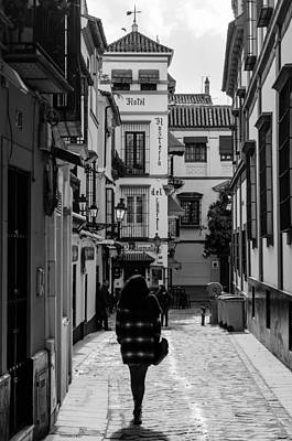 Photograph - Walking Alone by Andrea Mazzocchetti