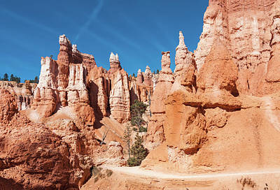Photograph - Walking Among The Hoodoos by John M Bailey