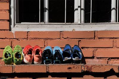 Photograph - Walking Around Teguz - 2 - A Colorful Display  by Hany J