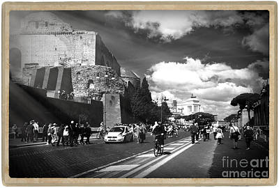 Italy Photograph - Walking Around The City Of Rome 2 by Stefano Senise