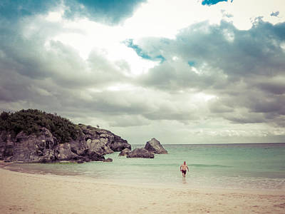 Bermuda Photograph - Walking Back To The Beach, Bermuda by Shane Reed
