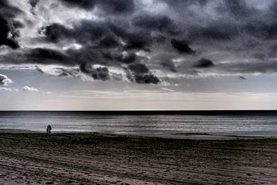 Photograph - Walking Before Storm 03 by Dora Hathazi Mendes