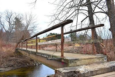 Photograph - Walking Bridge On The Boardwalk 1 by Nina Kindred
