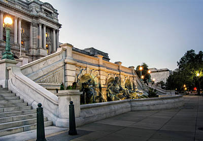 Photograph - Walking By The Library Of Congress by Greg Mimbs