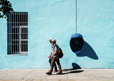 Photograph - Walking Hats by Yuri Santin