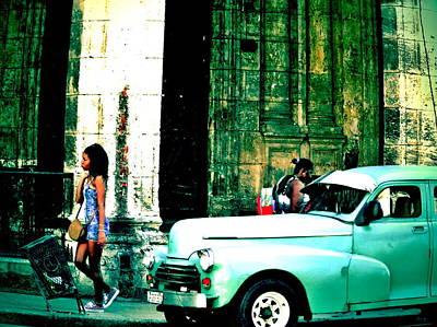 Photograph - Walking Havana  by Funkpix Photo Hunter