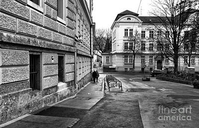 Photograph - Walking Home In Salzburg by John Rizzuto