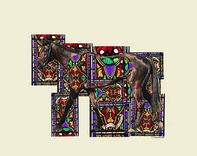 Photograph - Walking Horse by Tom Conway