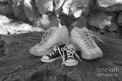 Walking In My Shoes Art Print