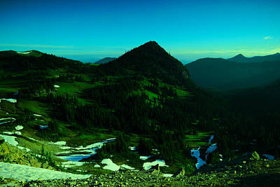 Photograph - Walking In The Cascades by Jeff Swan